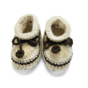 Sheepskin Lined Baby Booties