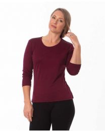 COLOURS TO CLEAR Silk 3/4 Sleeve Top