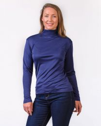 Women's Silk Turtleneck
