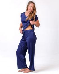 Silk PJ Separates - Full Length Pants
