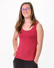 Women's Bamboo Singlet Top