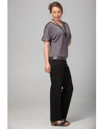 Bamboo Classic Straight Leg Trousers
