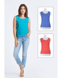 Optimum Cotton Sleeveless Top