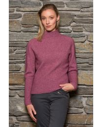 Noble Wilde Possum Merino Rib Turtleneck  Sweater