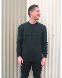 MKM Originals Possum Merino Breton Stripe Sweater