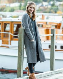 Noble Wilde Possum Merino Longline Coat