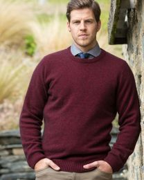 Noble Wilde Possum Merino Cambridge Crew Sweater