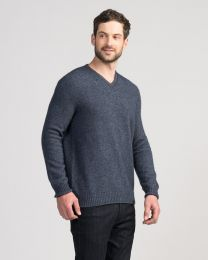 Merinomink™ Classic V-Neck Sweater
