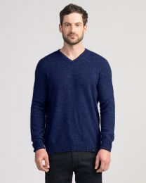 Merinomink™ Possum Merino Classic V-Neck Sweater
