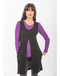 Bay Road Merino Split Front Tunic