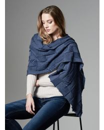 Royal Merino Textured Wrap