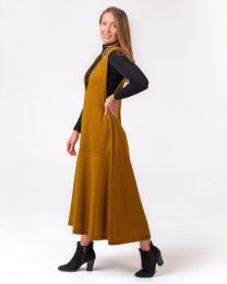 Optimum Merino Long Pinafore Dress