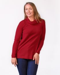 Optimum Merino Shawl Neck Sweater