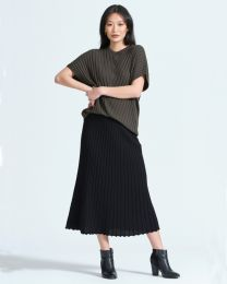 Optimum Merino Flared Skirt
