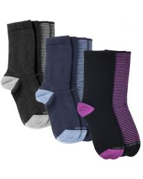 Women's Merino 2 Colour Socks 2-Pack