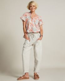 Madly Sweetly Linen the Life Trousers
