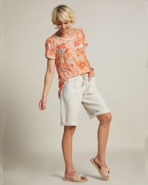 Madly Sweetly Linen the Life Shorts
