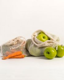 Organic Cotton Produce Bags 3-Pack