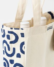 Organic Cotton Canvas Bottle Bag