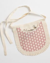 Organic Cotton Peg Apron