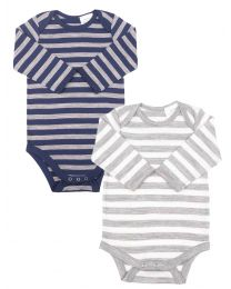 Merino Striped Bodysuit