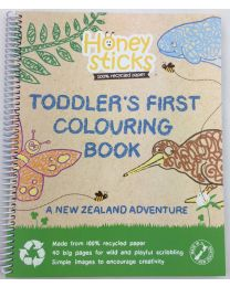 Toddlers First Colouring Book - A NZ Adventure