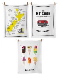 Kiwiana Tea Towels