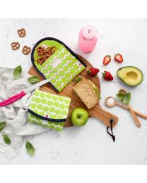 Organic Cotton Litterless Lunch Wrap