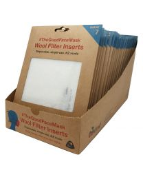 NZ Made Wool Mask Filter 7pk